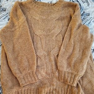aerie Sweaters - Aerie Oversized Happy Place Cable Sweater